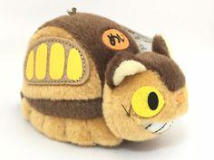 My Neighbor Totoro Catbus Neko Bus  Soft Key Chain Miniture Plush Studio Ghibli