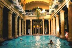 Find relaxation in one of Budapest's world famous thermal baths.