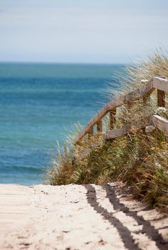 Boardwalk to beach at Curracloe by Niamh Mahon Places Around The World, Around The Worlds, Wexford Ireland, 12th Century, Ireland Travel, Places To See, Seaside, Coastal, Beautiful Places