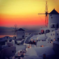Santorini sunset, Greece-- you are definitely on my list