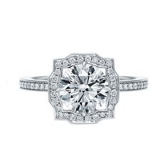 Engagement Envy: 20 Rings that Rock Our World - Uniquely Yours from #InStyle  Now this is GORGEOUS!!