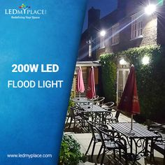 LED Flood Lights, outdoor lights are made up of premium LED chips from Epistar which ensures the highest operational efficiency.