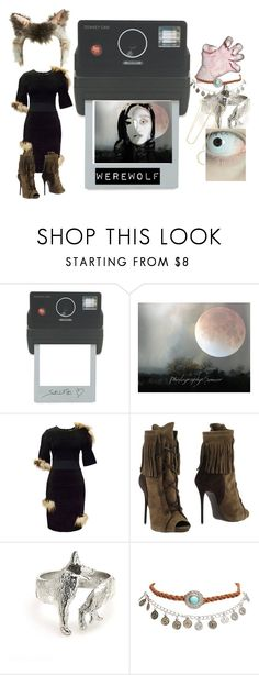 """Werewolf"" by sophy-b ❤ liked on Polyvore featuring Donkey Products, Topshop, Fendi, Giuseppe Zanotti, Wet Seal and Anita Ko"