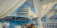 Concediu de vara la mare pe litoral 2018 in Turcia la Hotel Titanic Beach de 5 stele din Antalya Lara