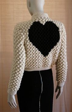 crochetmestres crochetmes3: Ganchillo ochentero. Black&White Love