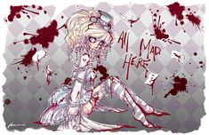 Crazy Alice by NoFlutter.deviantart.com on @deviantART
