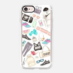 SPORTY SPICE (White Background) - Classic Grip Case