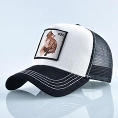 2018 Full visor trucker cap snapback hats for men summer mesh baseball hat  women breathable hip hop caps women bone feminino 42724a546fb4