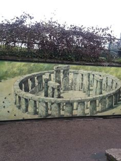 A rendering of what Stonehenge would have looked like. Almost looks real. Stonehenge, London Travel