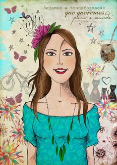 Ilustração Personalizada | Mulher