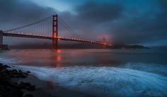 Golden Gate Reality by Jordan Mcfall on 500px