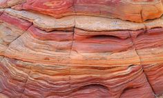 Coyote Buttes South - Sandstone Layers by Dean Hueber Coyote Buttes South, Industrial Scandinavian, Lake Las Vegas, Antelope Canyon, Dean, Layers, Nature, Layering, Naturaleza