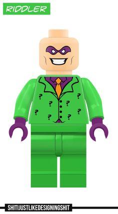 Lego Riddler Concept