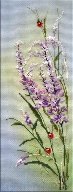 Цветы луговые рисунки схемы - Поиск в Google