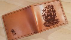 I Made Some Leather Wallets Using A Laser Cutter And 1910 Sewing Machine   Bored Panda