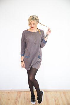 Entdecke lässige und festliche Kleider: Kleid Utah in braun made by SHOKO Shop via DaWanda.com