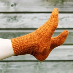 Sock knit pattern