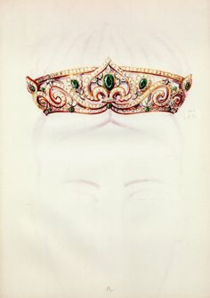 Tiara Jewel (Cartier) Archive Document Crown