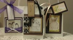 Gift bags with bookmark