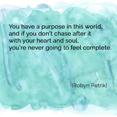 Your Purpose by Robyn Petrik  |  #poetry