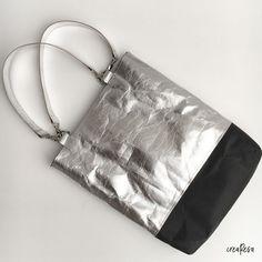 Schlichte Tasche nähen – einfacher Grundschnitt - crearesa.de