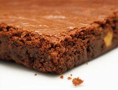 Brownie Tradicional com Azeite de Laranja   Tortas e bolos > Brownie   Receitas Gshow