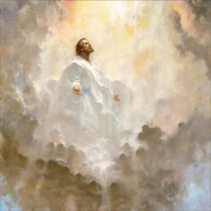 """""""Today is Ascension Day, when Christians Celebrate the Ascension of Jesus Christ"""" Pictures Of Christ, Jesus Christ Images, Religious Pictures, Jesus Art, Religious Art, Pictures Of God, My Jesus, King Jesus, Free Pictures"""