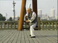 """Uploaded on Dec 13, 2009 by HungKyun.com:  Southern Shaolin """"Tiger and Crane Double Form Set (Fu Hok Seung Ying 虎鶴雙形), performed Yeung Dakyau sifu 杨德友師傅 (90 years old at the time when the video was shot), a Nanjing 南京 practitioner of Naam Siulam Tingong Mun 南少林天罡門 and a TCM physician. He has started the training at the age of 6; currently he is 92 years old."""