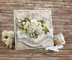 Klaudia/Kszp: Romantyczna kartka ślubna