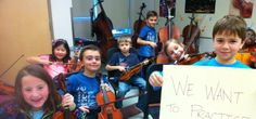 We want to practice at home.  More instruments will help us achieve this goal. -- This year MWI School has 9 orchestra classes, yet we only have 1 class set of instruments.  We are applying to the Aviva Community Fund for a grant that will allow our school to purchase enough instruments so that the students can take them home and practice. Please vote for our project - Fill the Halls With Music!