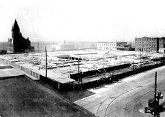 Memphis Historic Ellis Auditorium - and Market Place. Foundation. 1923