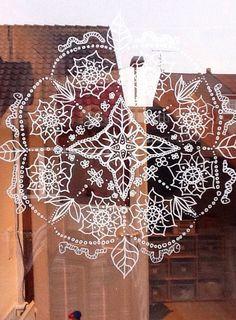 Mandala en vidrio