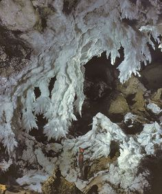 Lechuguilla Cave, Carlsbad Caverns National Park, New Mexico