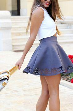 skater skirt, asos