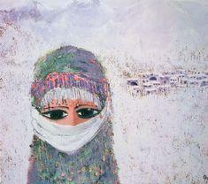 Fikret Otyam Funny Art, Oil Paintings, Abstract, Modern, Decor, Art, Dekoration, Decoration, Oil On Canvas