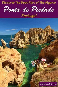 Ponta de Piedade is the most beautiful spot in the Algarve region of Portugal. Lots of grottos and caves to see Algarve, Visit Portugal, Portugal Travel, European Destination, European Travel, Europe Travel Tips, Travel Destinations, Travel Guides, Places In Europe