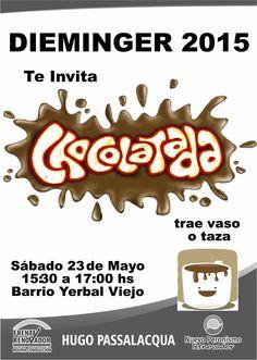Este Sábado 23/Mayo. en el Barrio Yerval Viejo, Gran chocolatada. #Passalacqua2015 #Herrera2015 #Dieminger2015 #SiSePuede #Obera #Politica