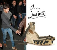 Celeb Style: Halle Berry's Date Night Out In CL Corina 100 Wedges