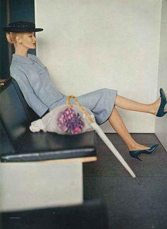 Photo by Karen Radkai, February Vogue 1956 | Flickr - Photo Sharing!