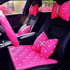 Bling Your Ride with girly car accessories