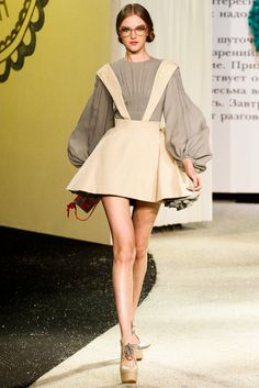 Ulyana Sergeenko Spring 2013 Couture Fashion Show - Vlada Roslyakova............. Pinterest: Elena Clairmont ♡