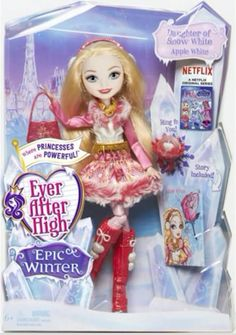 Ever After High Epic Winter Apple White doll. Credit: Ever After High dolls on Facebook