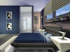 chemy's Kismet Modern Three Floor, Second Floor, Teen Bedroom, Master Bedroom, Modern Family, Home And Family, Sims 4 Modern House, Sims 4 Houses, Floor Plans