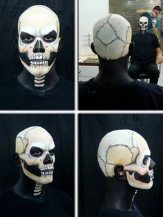 Ghost Rider (makeup process 2) by Thiago-M.deviantart.com on @deviantART