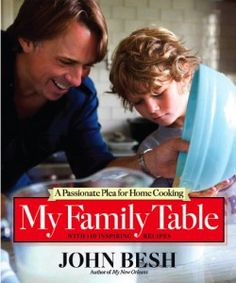 """John Besh's """"My Family Table"""" should be in everyone's cookbook collection. An intimate look at Besh family traditions with great recipes and techniques."""