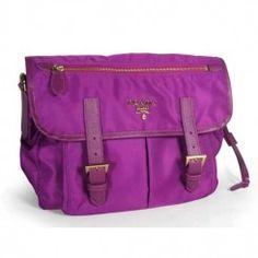 prada gold chain bag - Prada Small Vela Nylon Messenger Bag BT0693 Burgandy (Bordeaux ...