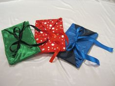 Sewing Pattern: Envelope style gift bag
