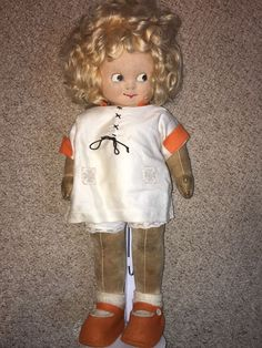 Chad Valley Mabel Lucie Attwell Cloth Doll