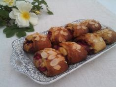 Raspberry rolls // I love this recipe, I've made it countless times. A keeper!