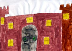 Nadia Allam, age 14, from Sperrinview Special School  was commended for her drawing of Hillsborough Castle